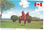 Click here to enlarge image and see more about item p4678: Royal Canadian Mounted Police Canada Postcard p4678
