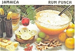 Click here to enlarge image and see more about item p4686: Jamaica  Recipe  For Rum Punch Postcard p4686