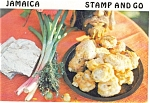 Click here to enlarge image and see more about item p4688: Jamaica Stamp and Go Recipe Postcard p4688