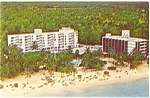 Click here to enlarge image and see more about item p4719: Jamaica Hilton Hotel Postcard