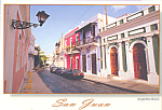 Click here to enlarge image and see more about item cs4734: San Francisco Street San Juan Puerto Rico cs4734