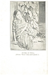 Click here to enlarge image and see more about item p4768: A Girl of India  Postcard 1912