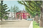 Click here to enlarge image and see more about item p4776: Sapporo Japan Street Scene Postcard p4776