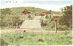 Click here to enlarge image and see more about item p4779: Oriental Temple Japan Postcard p4779