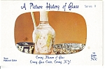 Click here to enlarge image and see more about item p4874: Corning Glass Museum Postcards Series II