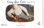 Click here to enlarge image and see more about item p4875: Corning Glass Museum Postcards Series I