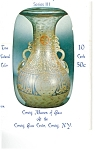 Click here to enlarge image and see more about item p4876: Corning Glass Museum Postcards Series III