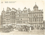 Click here to enlarge image and see more about item p4884: Brussels Belgium Corporation Houses Postcard