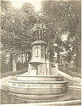 Click here to enlarge image and see more about item p4885: Brussels Belgium Egmont Horne Statue Postcard