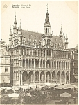 Click here to enlarge image and see more about item p4888: Brussels Belgium Kings House Postcard