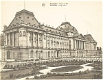 Click here to enlarge image and see more about item p4890: Brussels Belgium Kings Hall Postcard