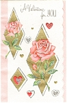 Click here to enlarge image and see more about item p4899: A Valentine For You Greeting Card