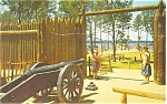 James Fort Jamestown VA Postcard