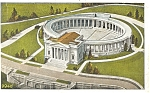 Click here to enlarge image and see more about item p4906: Arlington Memorial Amphitheatre VA Postcard p4906