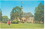 Williamsburg VA Colonial Capitol Postcard p4910