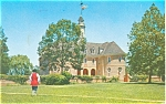 Colonial Capitol Williamsburg VA Postcard p4913