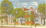 Richmond VA Justice Marshall's Home Postcard