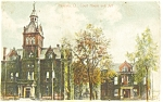Ravenna OH Courthouse and Jail Postcard