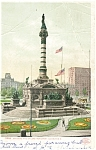 Click here to enlarge image and see more about item p4956: Cleveland OH Soldier s Monument Postcard p4956 1906