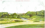 Click here to enlarge image and see more about item p4959: Cleveland OH Brookside Park Postcard p4959