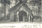 Click here to enlarge image and see more about item p4972: Canton OH McKinley's Tomb Postcard 1906