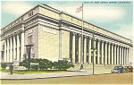 Click here to enlarge image and see more about item p4997: Denver Colorado Post Office Postcard