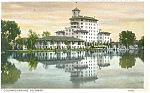 Colorado Springs CO Broadmoor Hotel Postcard