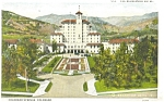 Colorado Springs The Broadmoor Hotel Postcard