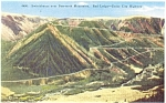 Click here to enlarge image and see more about item p5002: Cooke City MT Beartooth Mts Postcard