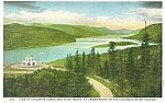 Click here to enlarge image and see more about item p5003: Vista House Columbia River Gorge OR Postcard