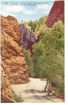 Click here to enlarge image and see more about item p5004: Cheyenne Canyon Colorado Springs CO Postcard p5004