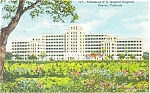 Denver Colorado General Hospital Postcard