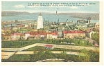 Click here to enlarge image and see more about item p5037: Quebec City Canada General View  Postcard p5037