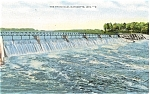 Click here to enlarge image and see more about item p5073: Marinette WI The Third Dam Postcard p5073