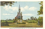 Memorial Church Nova Scotia Postcard p5129