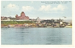 Click here to enlarge image and see more about item p5131: Quebec City Canada Postcard p5131