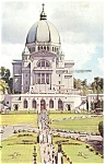 Click here to enlarge image and see more about item p5132: St Joseph Oratory Montreal Canada Postcard p5132