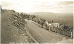 Cheyenne Highway WY Real Photo Postcard