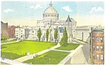 Click here to enlarge image and see more about item p5148: Christian Science Church Boston MA Postcard p5148