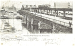 Click here to enlarge image and see more about item p5162: Elevated Railroad in Boston MA Postcard 1907