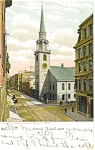 Old South Church in Boston MA Postcard p5171 1907