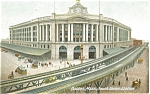 Click here to enlarge image and see more about item p5193: South Union Station, Boston MA Postcard