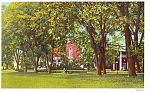 Click here to enlarge image and see more about item p5208: Ohio Univ., Athens OH Postcard 1956
