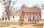 Dickinson Mansion Dover DE  Postcard