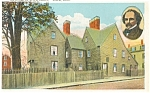 Salem MA House of Seven Gables Postcard