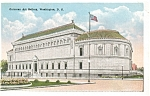 Click here to enlarge image and see more about item p5248: Washington DC Corcoran Art Gallery Postcard p5248
