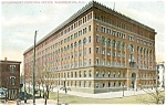 Washington DC Printing Office Postcard