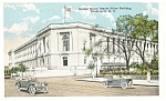 Washington DC Senate Office Bldg Postcard