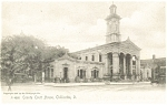 Click here to enlarge image and see more about item p5264: Chillicothe OH County Court House Postcard p5264