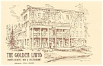 Lebanon Ohio The Golden Lamb Inn Postcard